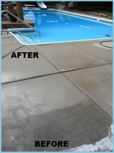 concrete cleaning and sealing in madison